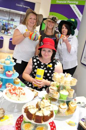 ... Curie a piece of cake for West Brom staff (From Redditch Advertiser