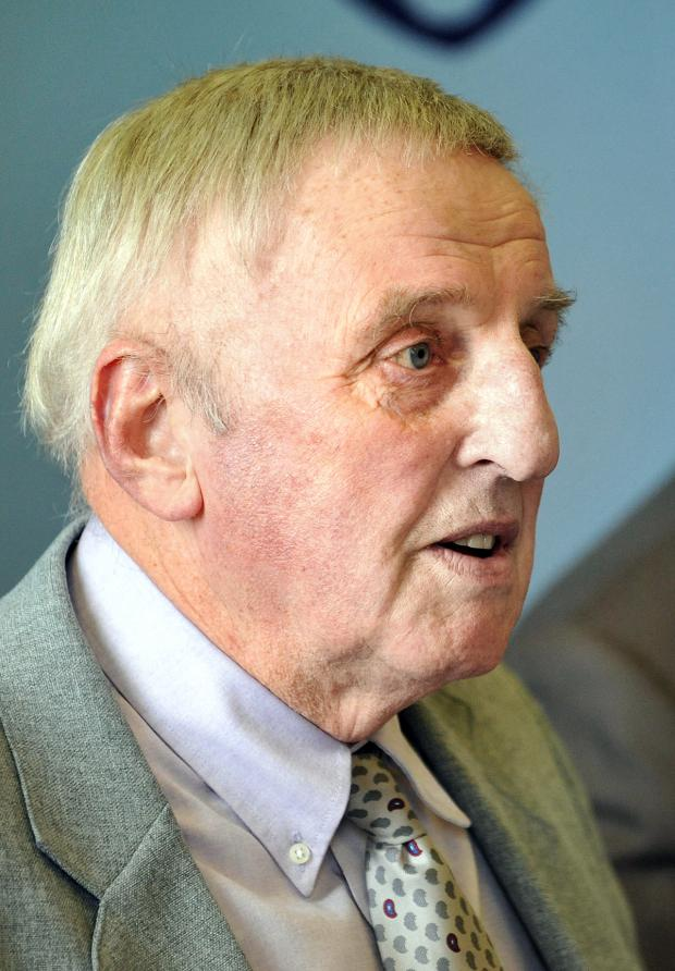 Redditch Advertiser: Police and crime commissioner Bill Longmore