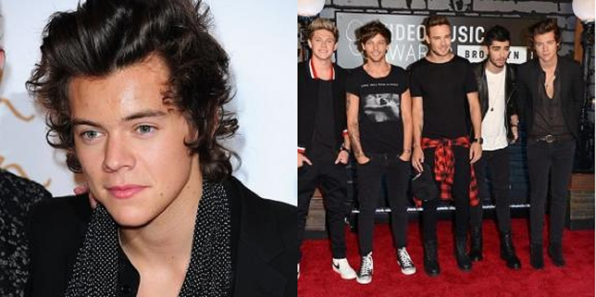 Harry Styles, and with band One Direction