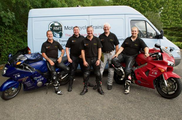 Instructors from RMT will teach motorcyclists to stay safe. SP