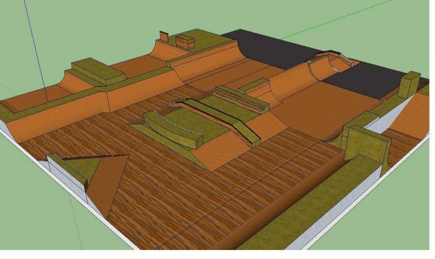 Redditch Advertiser: An artist impression on the new ramps.