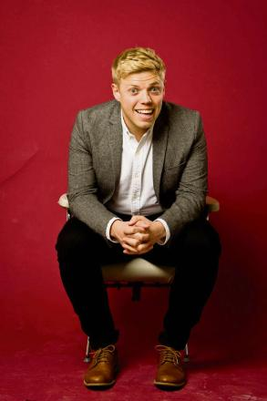 multi award winning comedian Rob Beckett