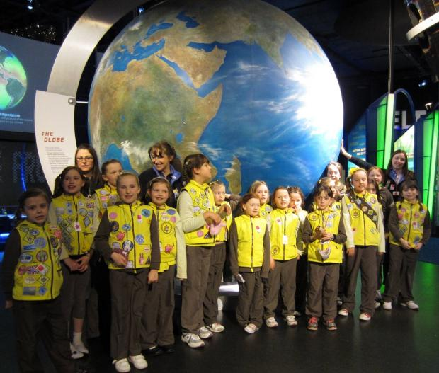 Brownies enjoyed an out-of-this-world event. SP