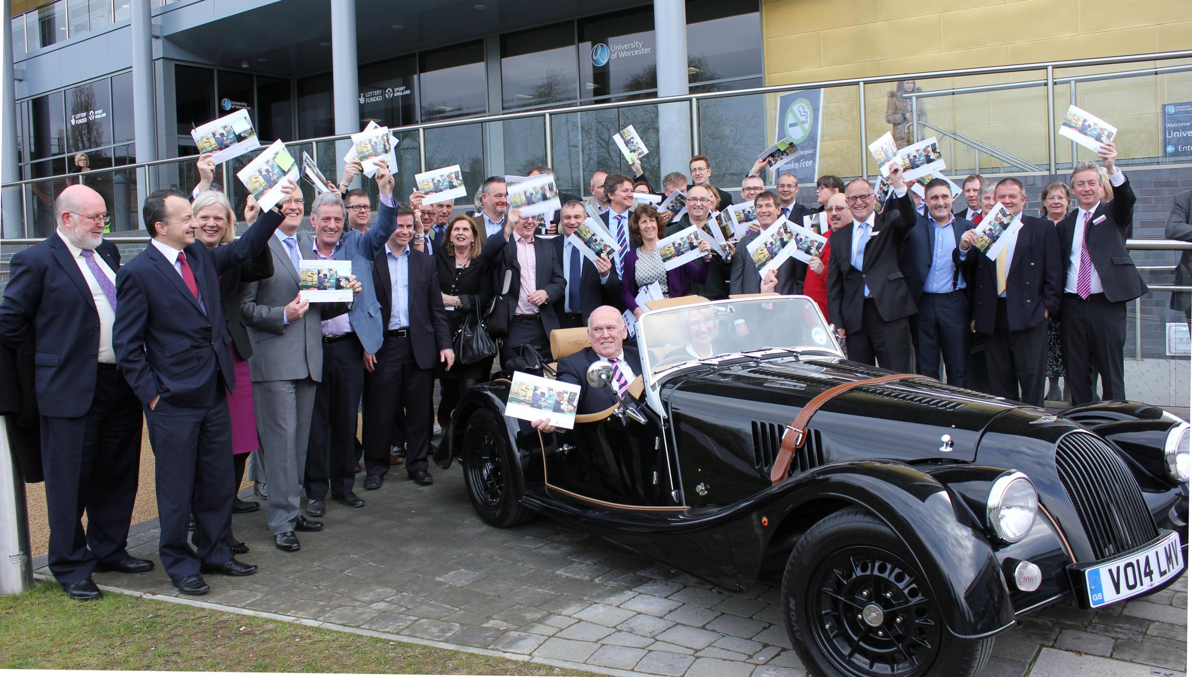 Worcestershire Sends Off Strategic Economic Plan (SEP) In Style