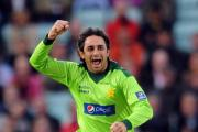 File photo dated 17/09/2010 of Pakistan's Saeed Ajmal. PRESS ASSOCIATION Photo. Issue date: Monday June 3, 2013. Ajmal touched down in England as the leading wicket-taker in ODI cricket this year, taking 19 wickets at 18.63 in nine matches. See PA sto