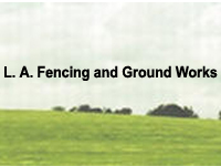 L A FENCING & GROUNDWORKS