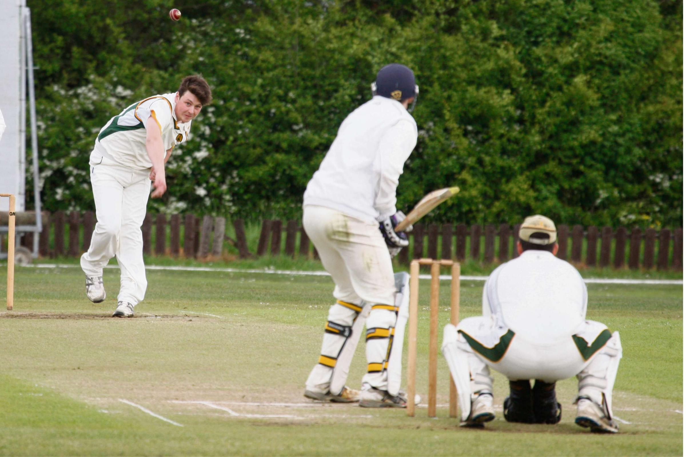 Action from Astwood's loss to Kings Heath. Picture: CRAIG ROSS