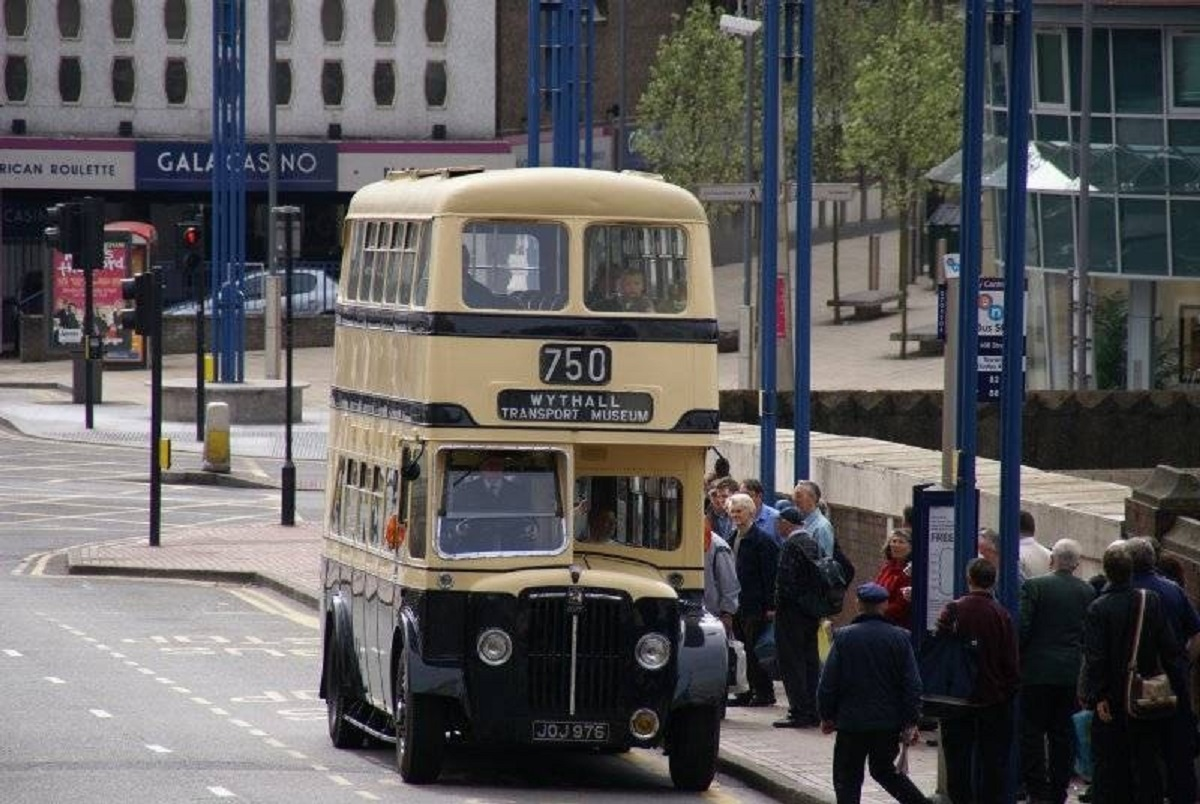 One of the buses from Wythall Transort Museum. SP
