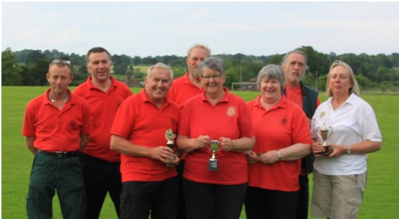 Wythall's Redhill Archers were in good form in the Team Trophy Category.