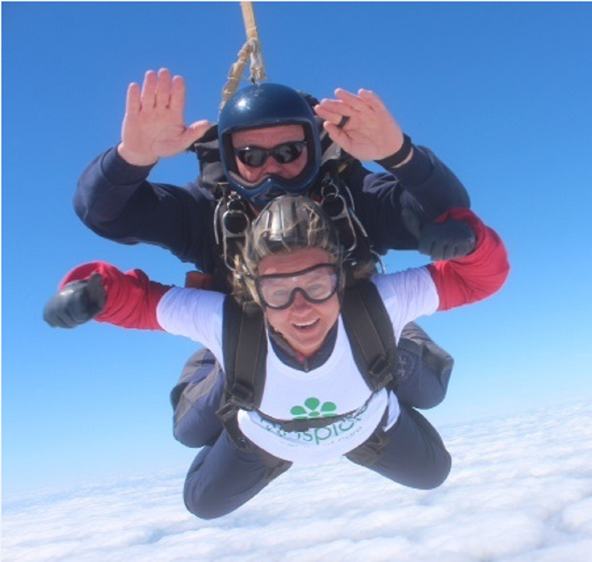 DAREDEVILS: Redditch and Bromsgrove thrillseekers are being invited to do a skydive this year