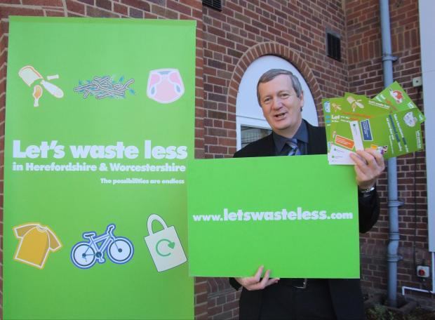 Councillor Anthony Blagg, cabinet member for environment and waste. SP