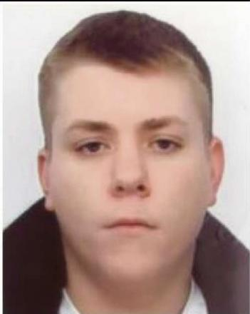 Michael Roden is wanted by police. SP