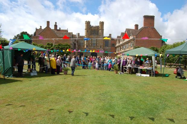 Coughton's annual summer village fete. Image courtesy of Claire Blackburn. SP