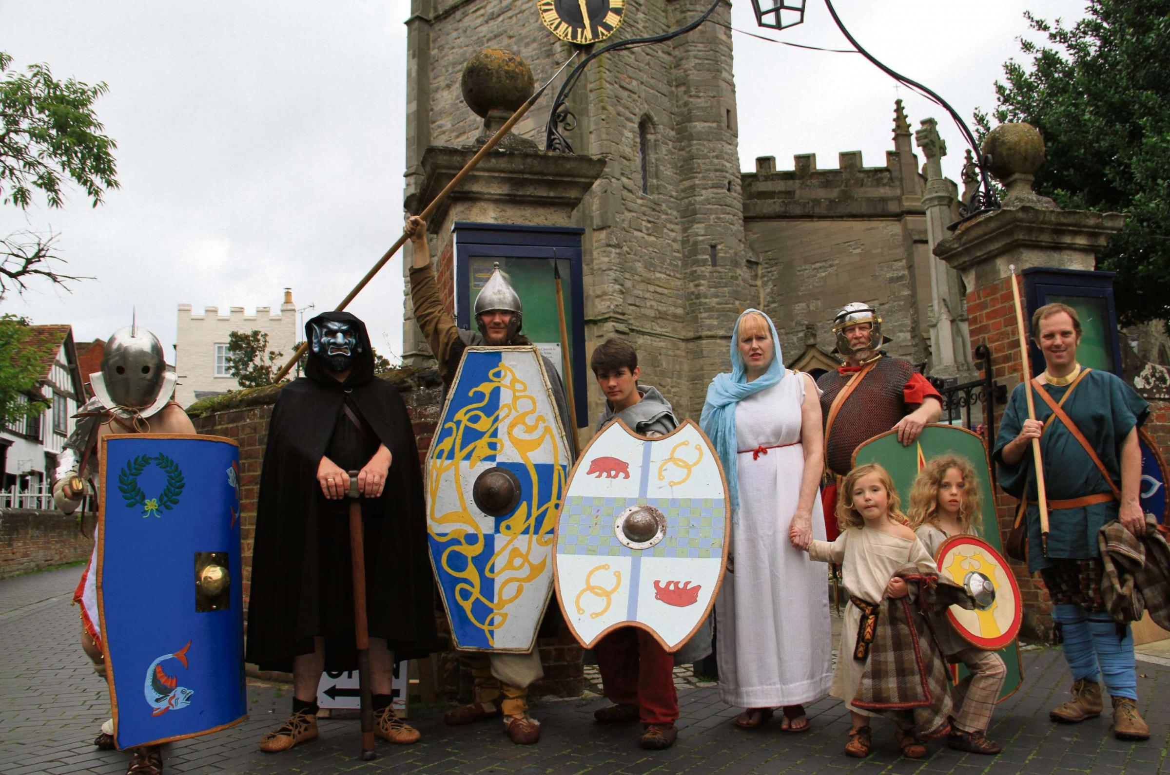 The Romans re-invade Alcester