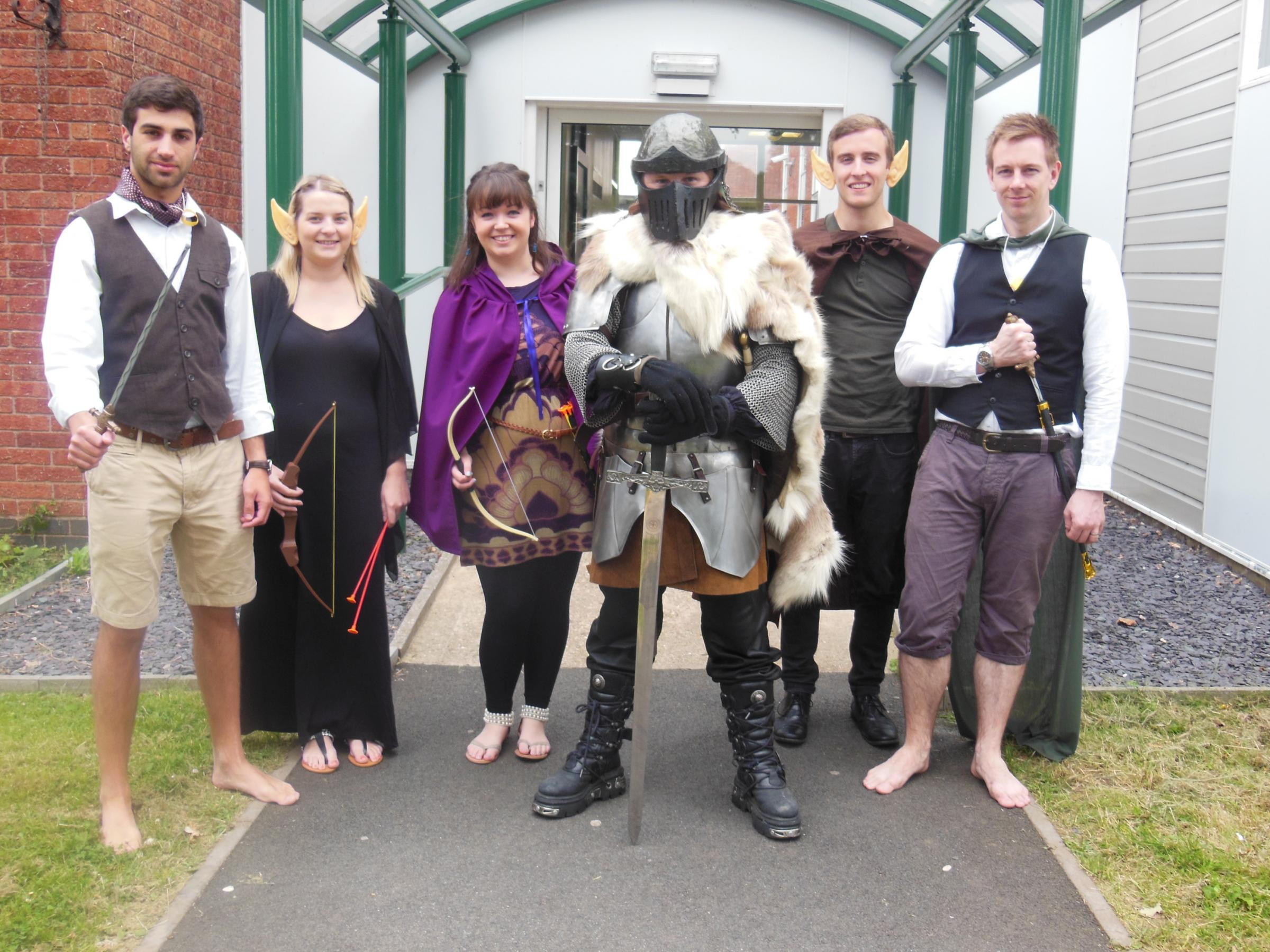 The magic of Tolkien was brought to life by staff at Tudor Grange Academy. SP