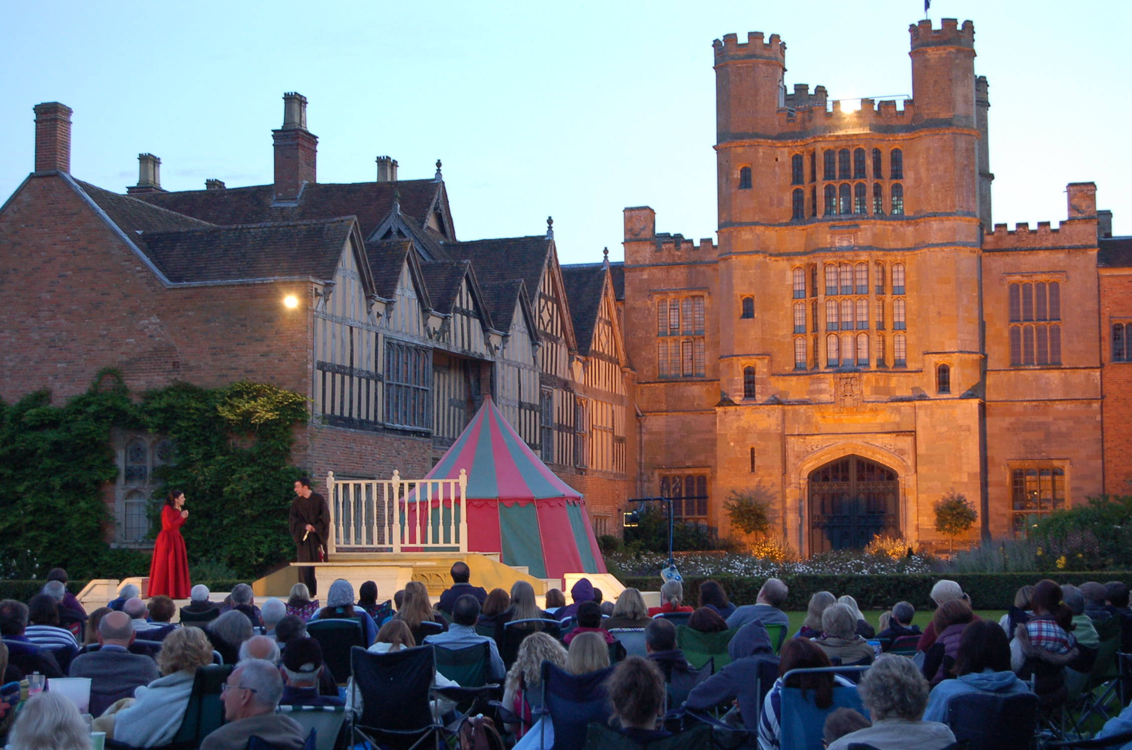 A production of Romeo and Juliet is coming to Coughton Court near Alcester. Photo courtesy of Claire Blackburn.