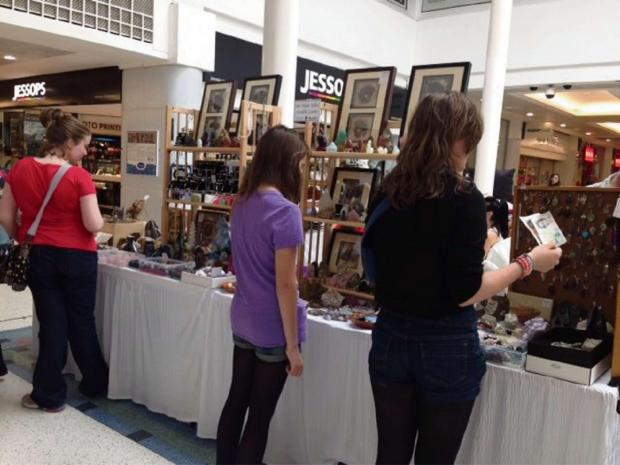 The Craft & Vintage Fair at Kingfisher Shopping Centre. SP