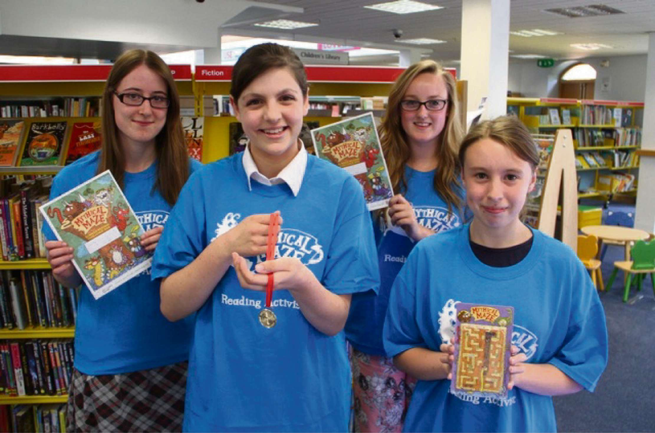 Teenagers throughout Warwickshire will be taking part in the scheme to help younger readers.