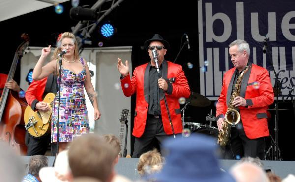 SYLISH: The Fabulous Boogie Boys, who are playing at the festival