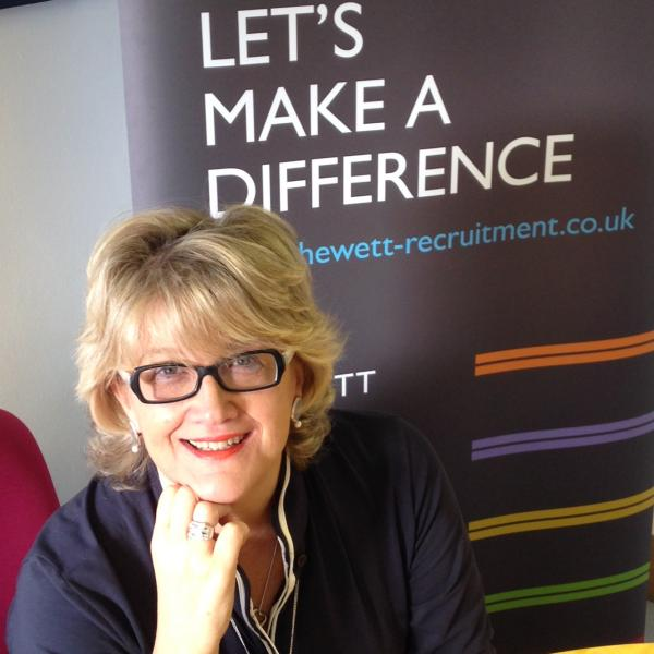 Louise Hewett, Managing Director of Hewett Recruitment