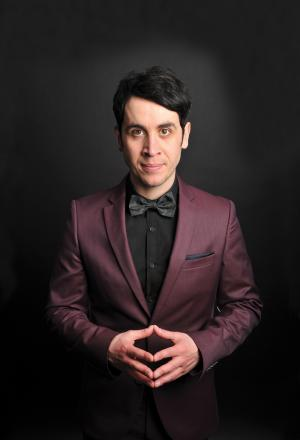 Now you see him: Pete Firman will be embarking on a national tour for his new show Trickster