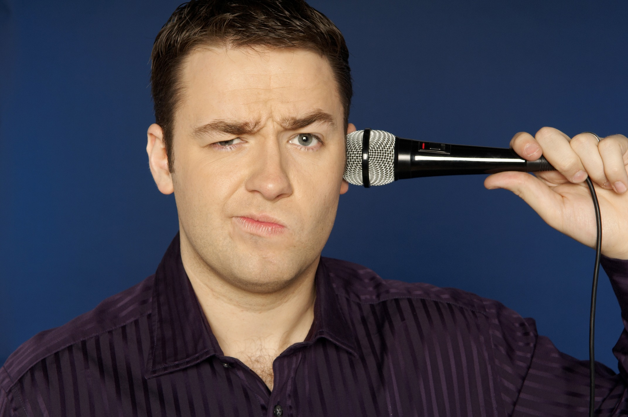 First world problems: Comedian Jason Manford will be coming to Redditch next month.