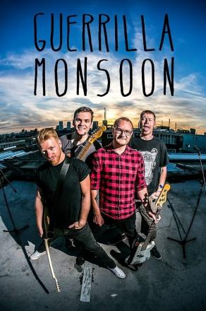 Are you ready to rock? Punk rock band Guerrilla Monsoon
