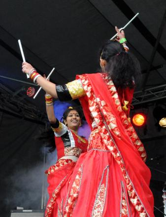 Morgan Stanley Festival at Morgan Stanley Park. Pictured are stage act Kerala Cultural Association (9391339)