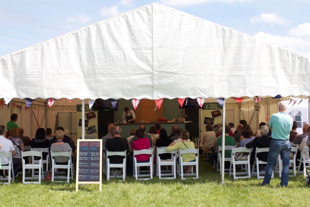 The first ever Great British Food Festival in Warwickshire is to take place on the Ragley