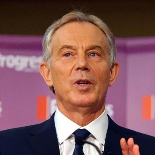 Tony Blair congratulated the Egyptian government on its successful negotiations between Israel and the Palestinian factions