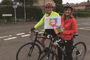 SADDLE UP: Speech and language therapists at Worcestershire Acute Hospitals NHS Trust Emela Milne and Liz Chatterton, will be cycling 55 miles to raise money for charity. SP