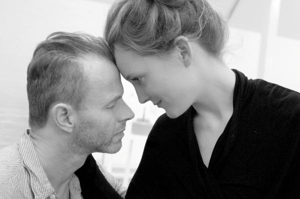 WAR TIME LOVE: Olivia Hallinan and Mark Letheren will be starring in Lotty's War.