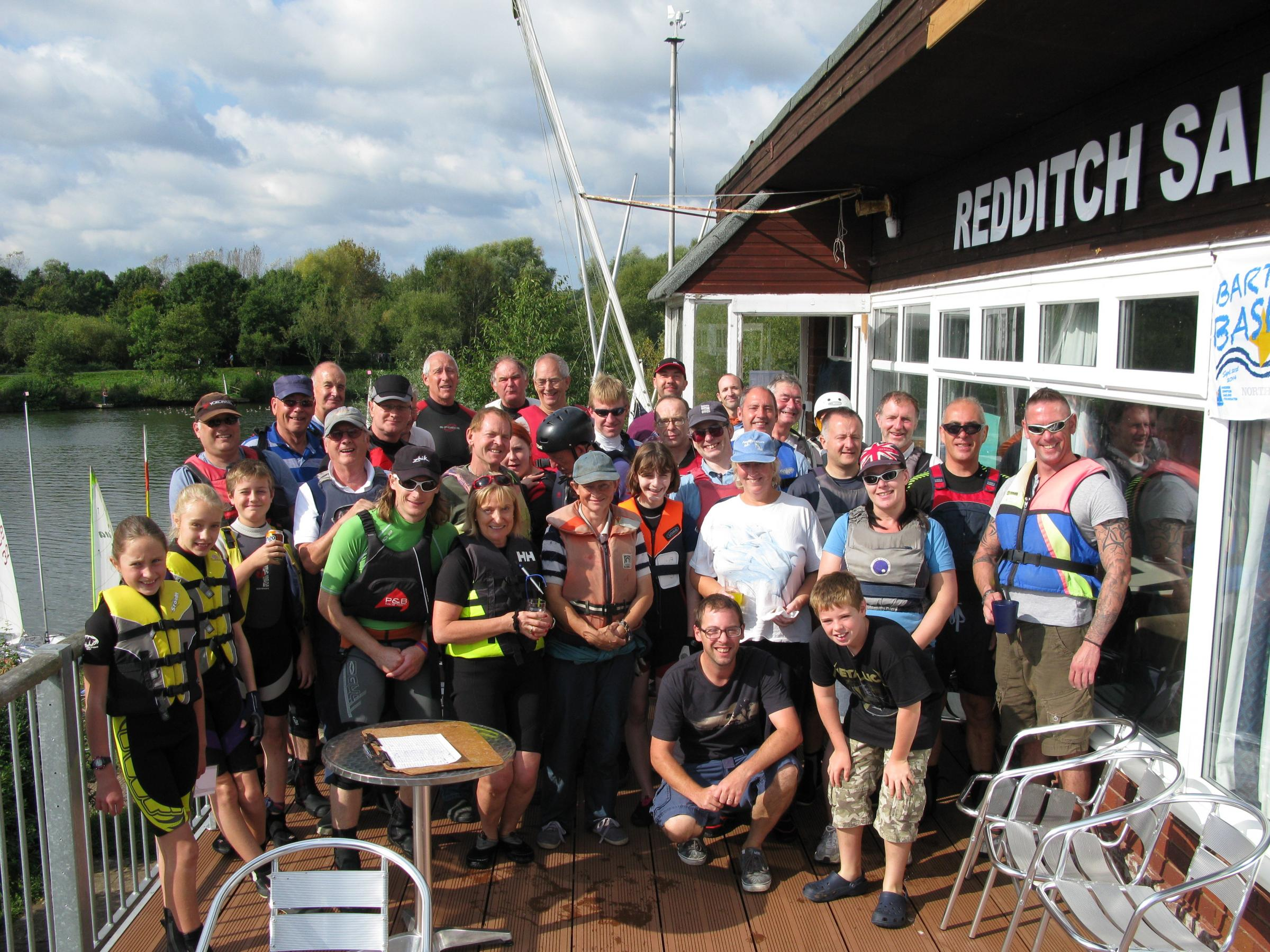 Members of Redditch Sailing Club recently took part in Bart's Bash, a sailing race and fundraising event.