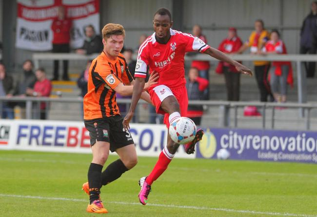 Ahmed Obeng is set to return to Harriers next season.