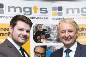 Redditch apprentice scoops regional award