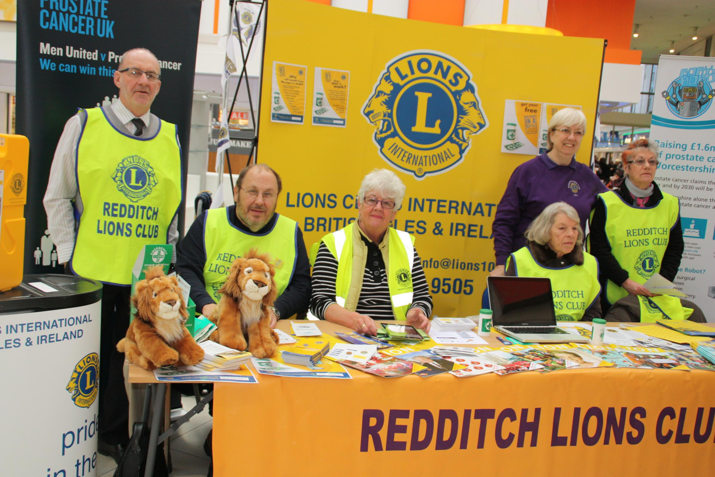 Lions' day in the Kingfisher Centre was a roaring success - Redditch Advertiser