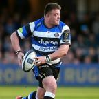 Redditch Advertiser: Bath prop David Wilson, pictured, is England's latest injury concern ahead of next weekend's Six Nations opener in Wales
