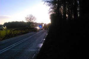 Accident - A44 closed in north Herefordshire