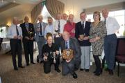 Winners from Redditch GC's presentation lunch.