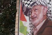Wall art in Ramallah