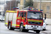 Two vehicle collision and garden fire alert Redditch firefighters