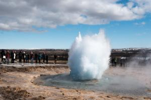 Iceland's latest snow-stopping attraction