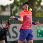 Redditch Advertiser: Kyle Edmund has reached the second round of the French Open