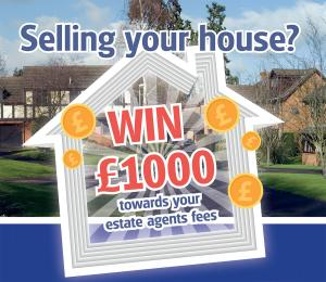 Redditch Advertiser: Selling Your House? - Win £1,000 towards your estate agent fees!