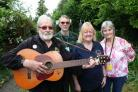 A previous Alcester Folk Festival at the Swan Hotel. From left Chris Edwards, Sue Harris and Lorraine Wooldridge.  (54890375)