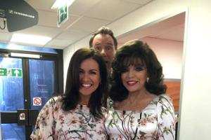 Dress double-take for 'glamour twins' Susanna and Dame Joan