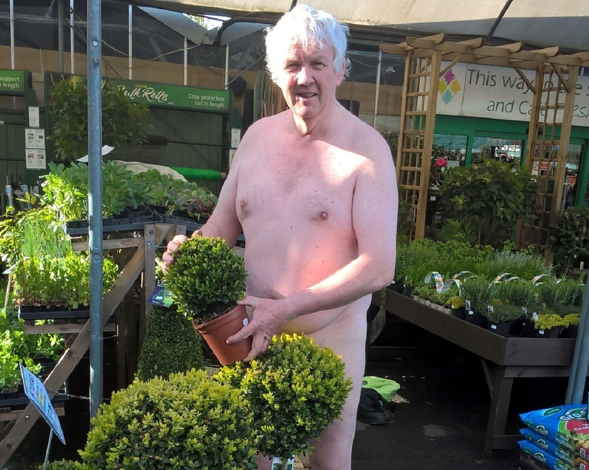Captivating Burcot Workers Get Nude For Naked Gardening Day