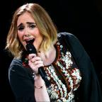 Redditch Advertiser: Saying Hello to Glastonbury has given Adele's 25 a boost up the albums chart