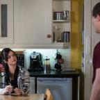Redditch Advertiser: EastEnders shows pregnant Whitney Dean confronting cheating boyfriend Lee Carter