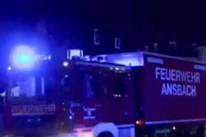 Suicide bomber kills himself and injures 10 people in blast in Germany